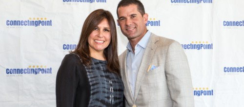 Michael Young Supports Connecting Point of Park Cities at Luncheon